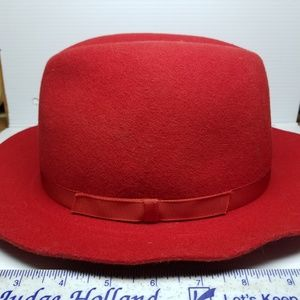 b29ed577d30e1 Vintage LL Bean Wool Fedora Made In England